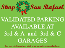 Shop San Rafael Validated Parking