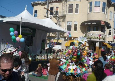 easter bonnet stage