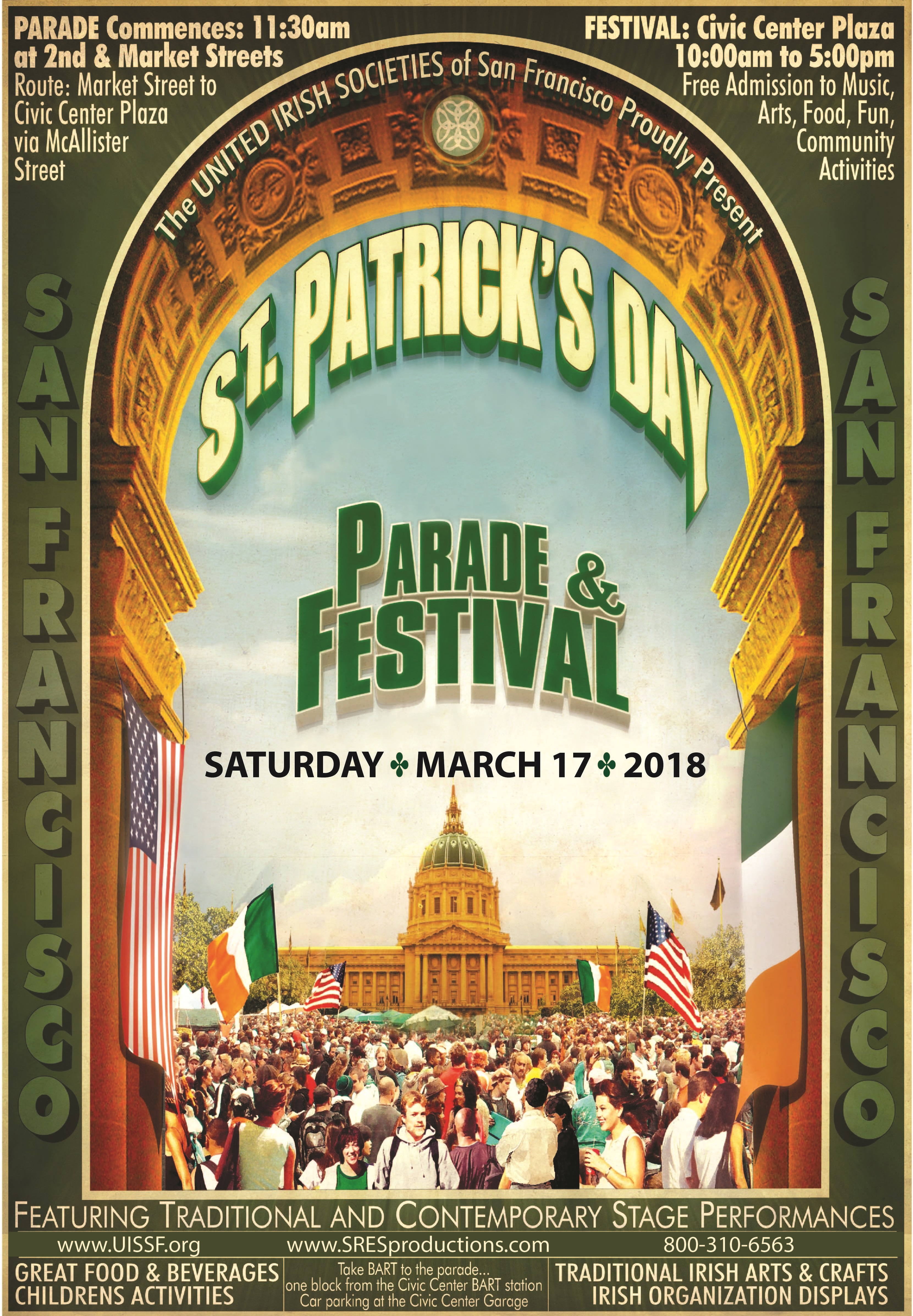 One of the favorite days of the Irish is March 17th
